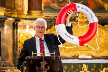 Rettungsring der HASPA für den Michel