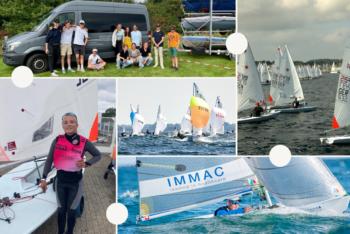 Kieler Woche Teil I:  Auch ohne viel Wind einige Erfolge
