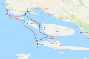 NRV Cruise 2021 - Split und die Küste Dalmatiens