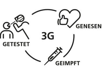 3G Regel bei allen Veranstaltungen im NRV