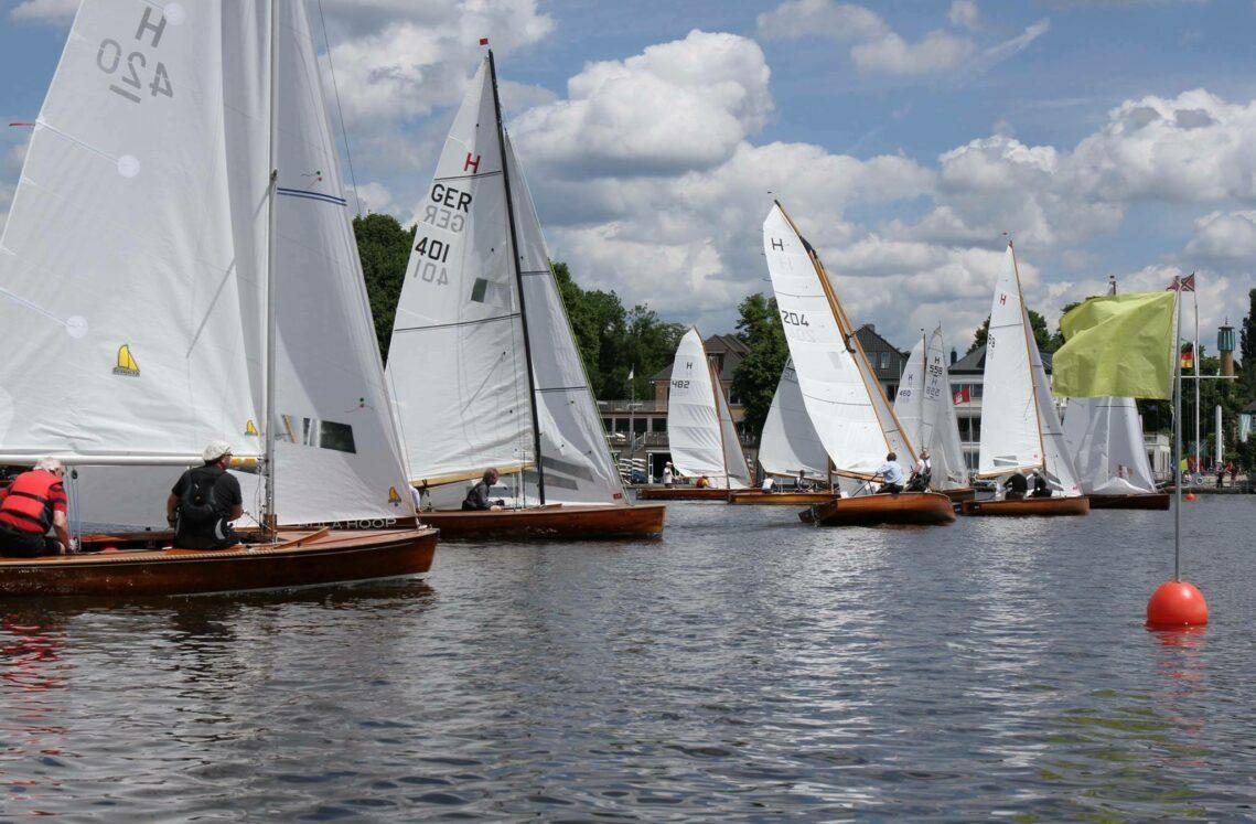 Holzboot-Regatta (Kobold-Preis, Alsterschale, Julius-Gahde-Gedächnis-Preis, Bronia Preis)